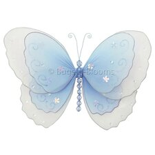 Butterfly Hanging Multi-Layered Nylon 3D Wall Decor
