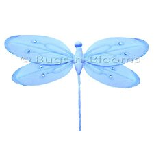 Dragonfly Hanging Shimmer Nylon 3D Wall Decor