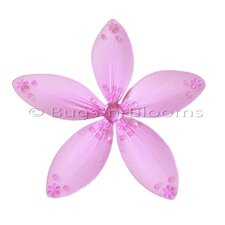 Flower Hanging Twinkle Nylon 3D Wall Decor