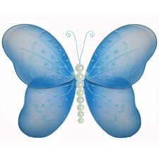 Butterfly Hanging Pearl Nylon 3D Wall Decor
