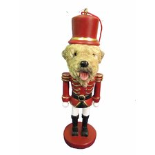 Soft Coated Wheaten Terrier Soldier Dogs Ornament