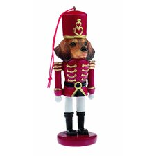 Dachshund Red Soldier Dogs Ornament