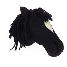 Black Beauty Horse Head Wall Decor
