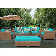 Laguna 8 Piece Seating Group with Cushion