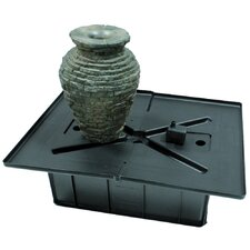 Stacked Slate Urn Fountain Kit