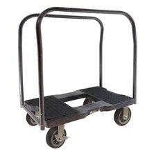"""40.5"""" x 20.5"""" x 35"""" All-Terrain Panel Cart Dolly with Optional E-Strap Attachment"""