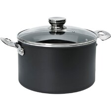 Aluminum Non-Stick Dutch Oven with Vented Glass Lid