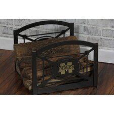 Steel Collegiate Fireside Log Holder