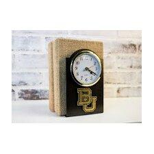 NCAA Logo Desk Clock