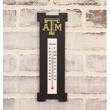 NACC Logo Outdoor Thermometer and Clock