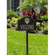 Collegiate Yard Welcome Address Sign
