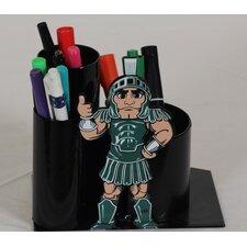 Michigan State University Mascot Desktop Pencil Holder
