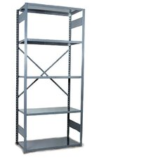 "V-Grip 84"" Shelving Unit - Open Add On - with 5 Shelves"