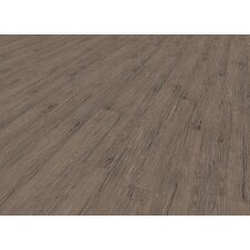 """Home Creation Clic 6.9"""" x 39.3"""" Luxury Vinyl Plank in Deep Forest"""