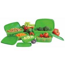 10 Piece Always Fresh Plastic Food Storage Container Set