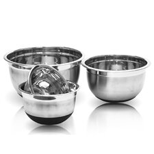 4 Piece Stainless Steel Mixing Bowl Set