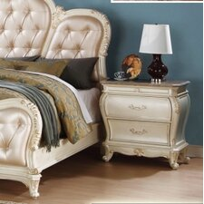 Marquee 2 Drawer Nightstand