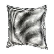 Delano Décor Woven Houndstooth Cotton Throw Pillow