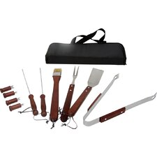 11 Piece Grilling Tool Set