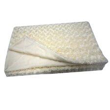 Sculpted Faux Fur Throw Blanket