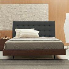 Bella Queen Upholstered Panel Bed