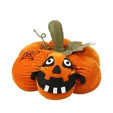 LED Plush Jack-o-Lantern Halloween Decoration