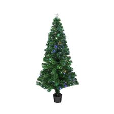 3' Color Changing Fiber Optic Christmas Tree