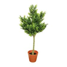 Two-Tone Artificial Sweet Grass Tree in Pot