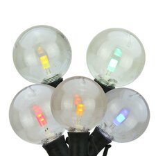 LED G40 Commercial Grade Patio or Christmas Light (Pack of 25)