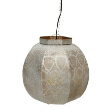 Moroccan Style 1 Light Globe Pendant
