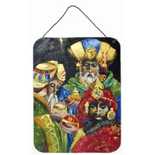 The Three Wise Men Hanging Painting Print Plaque