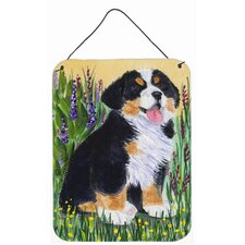 Bernese Mountain Dog Aluminum Metal Hanging Painting Print Plaque