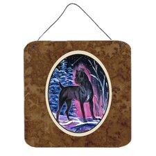 Starry Night Cane Corso Aluminum Hanging Painting Print Plaque