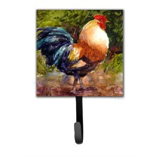 Rooster Leash Holder and Wall Hook