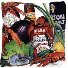 Louisiana Spices Indoor/Outdoor Throw Pillow