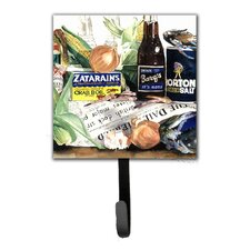 Barq's, Crabs, and Spices Leash Holder and Wall Hook