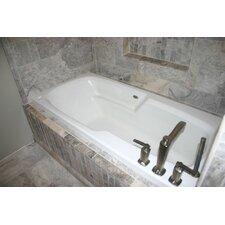 """Hygienic Air Tub 65"""" x 32"""" Bathtub"""