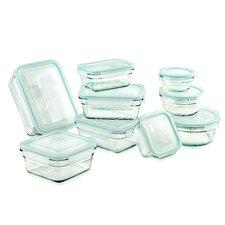 18 Piece Glasslock Storage Container Set