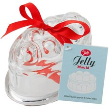 Originals Vintage Oval Glass Jelly Mould