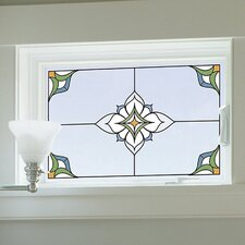Window Decor McCord Caming Lines for Stained Appliques Window Sticker (Set of 2)