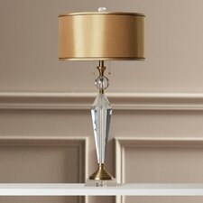 "Samuel 32.75"" H Table Lamp with Drum Shade"