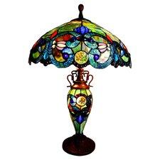 "Crawley 26"" H Table Lamp with Bowl Shade"