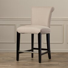 "Galvin 24"" Bar Stool with Cushion"