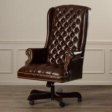 Clark High-Back Leather Executive Chair