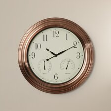 "Brent 18"" Wall Clock"