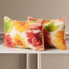 Walkden Corded Indoor/Outdoor Throw Pillow (Set of 2)