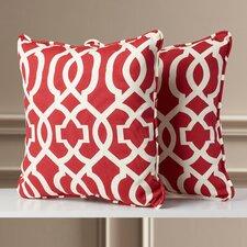 Woodeward Corded Indoor/Outdoor Throw Pillow (Set of 2)
