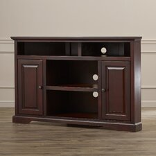 Edgerley Corner TV Stand in Danish Cherry