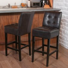 "25.5"" Bar Stool with Cushion (Set of 2)"
