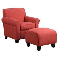 Azariah Arm Chair & Ottoman